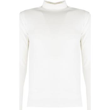 Oblačila Moški Majice z dolgimi rokavi Xagon Man  Bež