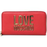 Torbice Ženske Denarnice Love Moschino JC5611PP1DLJ050A Rdeča