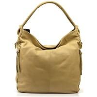 Torbice Ženske Ročne torbice Vera Pelle VP233C Rumena