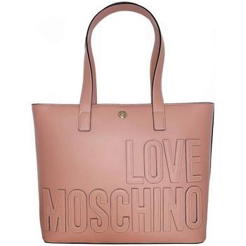 Torbice Ženske Nakupovalne torbe Love Moschino JC4174PP1DLH0611 Roza