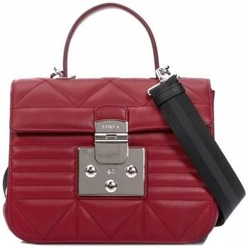Torbice Ženske Ročne torbice Furla Fortuna Bordo rdeča