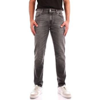 Oblačila Moški Jeans straight Roy Rogers A21RRU075N0561889 BLACK