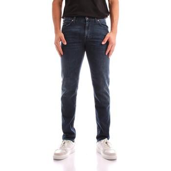 Oblačila Moški Jeans straight Roy Rogers A21RRU075D4631891 BLUE JEANS
