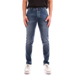 Oblačila Moški Jeans straight Roy Rogers A21RRU006D463A145 BLUE JEANS
