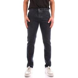 Oblačila Moški Jeans straight Roy Rogers A21RRU006D4390963 BLUE JEANS