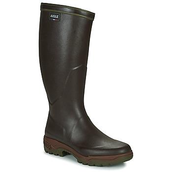 Čevlji  Moški škornji za dež  Aigle PARCOURS 2 Rjava