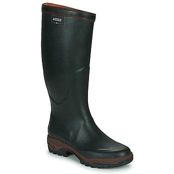 Čevlji  Moški škornji za dež  Aigle PARCOURS 2 Zelena