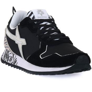 Čevlji  Moški Nizke superge W6yz 1A06 JET W BLACK Nero
