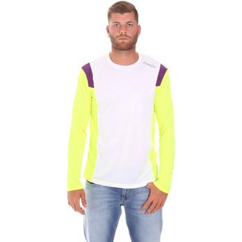 Oblačila Moški Majice z dolgimi rokavi Diadora 102175720 Biely
