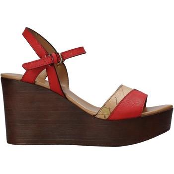 Čevlji  Ženske Sandali & Odprti čevlji Alviero Martini E102 422A Rdeča