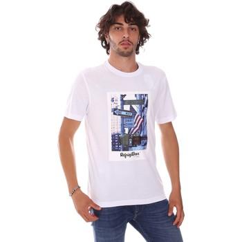 Oblačila Moški Majice s kratkimi rokavi Refrigiwear RM0T24400JE9101 Biely