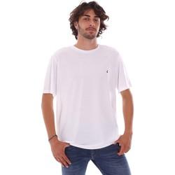 Oblačila Moški Majice s kratkimi rokavi Navigare NV31126 Biely