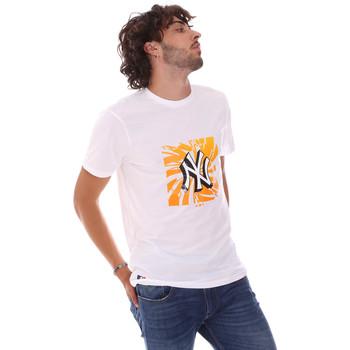 Oblačila Moški Majice s kratkimi rokavi New-Era 12720170 Biely