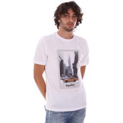 Oblačila Moški Majice s kratkimi rokavi Refrigiwear RM0T25500JE9101 Biely