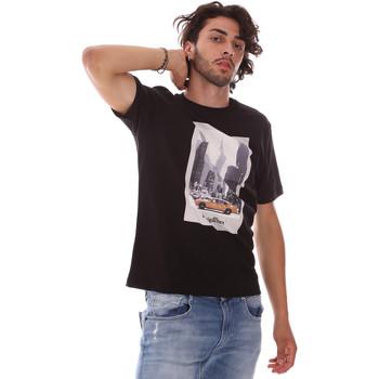 Oblačila Moški Majice s kratkimi rokavi Refrigiwear RM0T25500JE9101 Črna