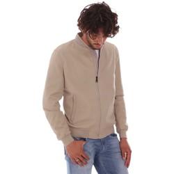 Oblačila Moški Jakne Les Copains 9UB080 Bež
