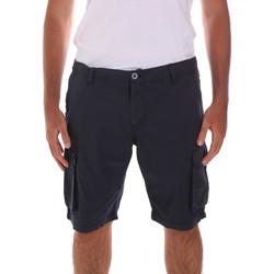 Oblačila Moški Kratke hlače & Bermuda Key Up 2A04P 0001 Modra