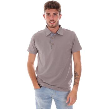 Oblačila Moški Polo majice kratki rokavi Bradano 600 Siva
