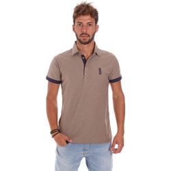 Oblačila Moški Polo majice kratki rokavi Bradano 201014M Bež