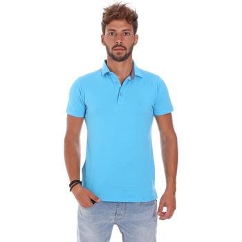 Oblačila Moški Polo majice kratki rokavi Bradano 201014M Modra
