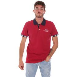 Oblačila Moški Polo majice kratki rokavi Key Up 2G94Q 0001 Rdeča