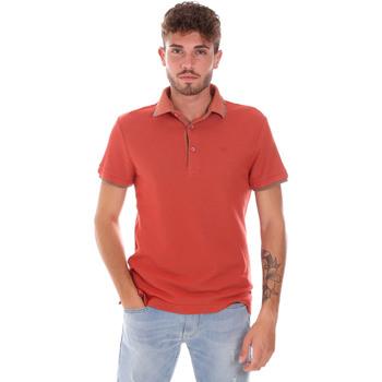 Oblačila Moški Polo majice kratki rokavi Gas 310124 Oranžna