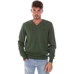 Oblačila Moški Puloverji U.S Polo Assn. 38346 50357 Zelena