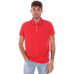 Oblačila Moški Polo majice kratki rokavi U.S Polo Assn. 38270 51711 Rdeča