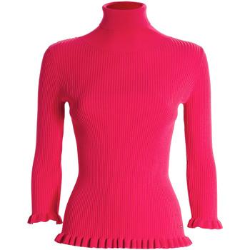 Oblačila Ženske Puloverji Fracomina FR21WT7011K41401 Roza