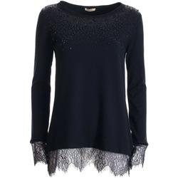 Oblačila Ženske Puloverji Fracomina FR21WT7031K41201 Črna