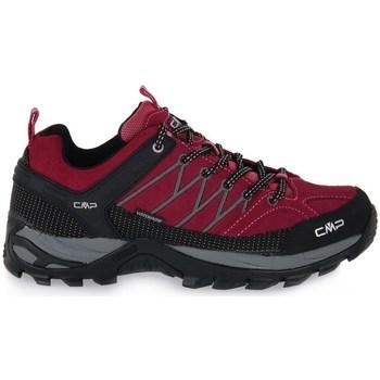 Čevlji  Ženske Pohodništvo Cmp Rigel Low Trekking Rdeča