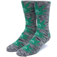 Dodatki  Moški Nogavice Huf Socks tiedye green buddy pl Črna