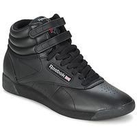 Čevlji  Visoke superge Reebok Classic FREESTYLE HI Črna