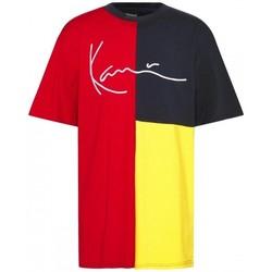 Oblačila Moški Srajce s kratkimi rokavi Karl Kani CAMISETA MULTICOLOR HOMBRE  6030929 Večbarvna