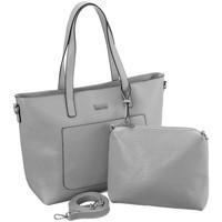 Torbice Ženske Ročne torbice Badura 104870 Siva
