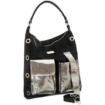 Torbice Ženske Ročne torbice Badura 91210 Črna