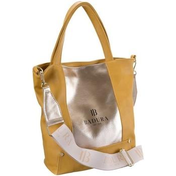 Torbice Ženske Ročne torbice Badura 104100 Rumena, Zlata