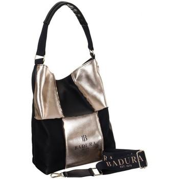 Torbice Ženske Ročne torbice Badura 105990 Črna