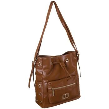 Torbice Ženske Ročne torbice Monnari 106000 Rjava