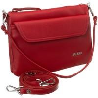 Torbice Ženske Ročne torbice Badura 84950 Rdeča