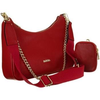 Torbice Ženske Ročne torbice Badura 85110 Rdeča