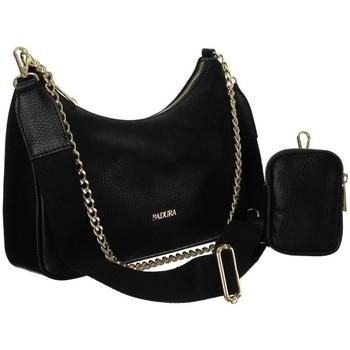 Torbice Ženske Ročne torbice Badura 85100 Črna