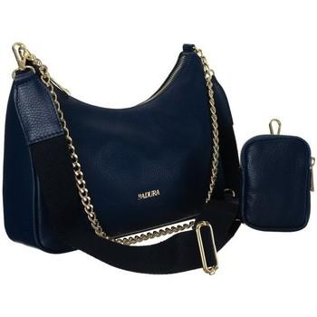 Torbice Ženske Ročne torbice Badura 85120 Mornarsko modra