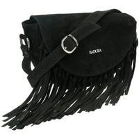 Torbice Ženske Ročne torbice Badura TD185ZICD Črna