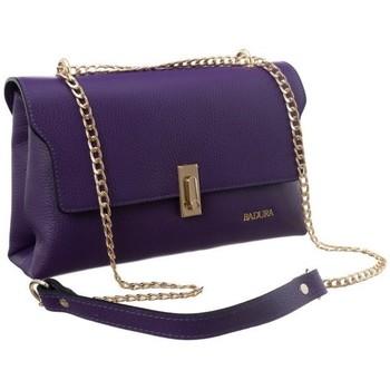 Torbice Ženske Ročne torbice Badura 81720 Vijolična