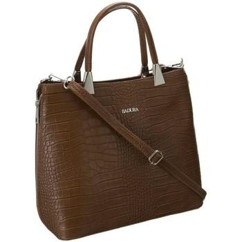 Torbice Ženske Ročne torbice Badura TD183BRCD Rjava