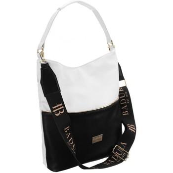 Torbice Ženske Ročne torbice Badura 103960 Bela, Črna