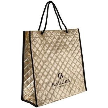 Torbice Ženske Nakupovalne torbe Badura 122480 Zlata