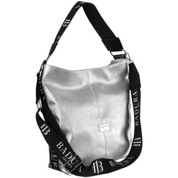 Torbice Ženske Ročne torbice Badura 114620 Srebrna