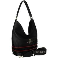 Torbice Ženske Ročne torbice Badura 116210 Črna